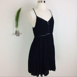 Kimchi Blue Exquisite Black Layered Dress Size 4